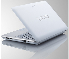 Netbook SONY Vaio W216AG Atom N450 2x1.66G 2G 320G 10.1in LED WC new 99% giá rẻ