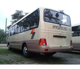 Mr Qúy Hyundai County 29 chỗ xe Đồng vàng .Gía Sát gốc nhà máy.