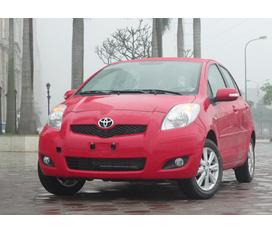 Toyota Yaris MT Model 2012 nhập khẩu nguyên chiếc bên Châu Âu có giấy tờ chứng nhận Xe chưa biển giao xe ngay hồ sơ