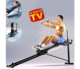 Tập toàn thân, tập đa năng thật dễ dàng với Máy tập đa năng Total Gym Shaper với hơn 100 bài tập phong phú đa dạng
