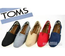 Giày TOMS cá tính cho cả Nam và nữ...hot hot hot.....