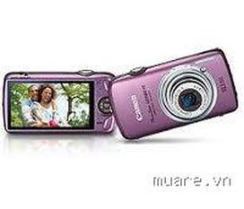 Bán máy ảnh canon ixus 200IS màu tím made in japan, siêu room 20X, màn hình cảm ứng