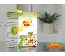 KM Phôi lúa mì, Wheatgerm100, dinh dưỡng cho mẹ và bé, cho người bị tim mạch, tiểu đường, cho người ăn kiêng,...