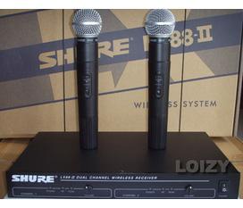 Shure LX88II. Micro không dây chất lượng tốt, độ ổn định cao
