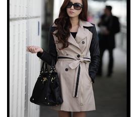 Áo khoác thu đông Hàn Quốc đẹp quyến rũ