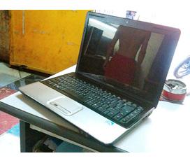 Bán con Laptop CQ40 Core 2 Dual T5670, 1G, 160G. Giá 4Tr7