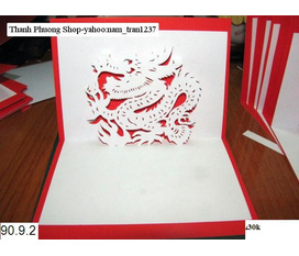 Thiệp Popup 12 con giáp còn nhiều mẫu khác ở Thanh Phương Shop