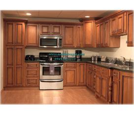 Tủ bếp gỗ Sồi Nga, Tủ bếp Xoan Đào Gia Lai giá cực hợp lý, thiết kế chuyên nghiệp