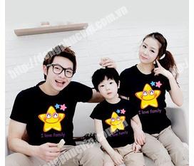 Áo gia đình cute 130k/áo