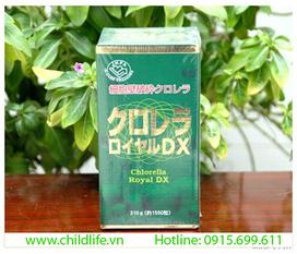 Tảo xoắn hoàng gia spirullina Chlorella Royal DX Nhật Bản