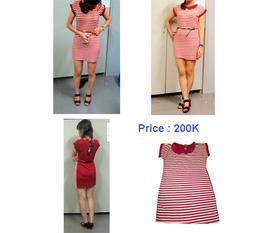 Váy thun nhẹ nhàng, duyên dáng và nữ tính