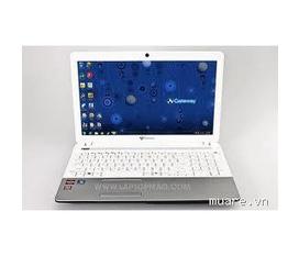 Laptop gateway NV49C17V của hãng Acer màu trắng intel Pentium processor P6100 chip tiết kiệm điện , ram 2G,