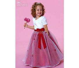 Đầm Voan Trẻ Em