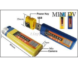 Hộp quẹt gas camera mini ngụy trang 007