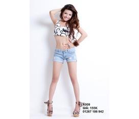 Quần Short Hàn Quốc, short lưng cao, jean skinny thiết kế, hàng độc chỉ có ở THE SHORT