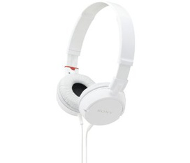 Headphones Sony MDR ZX100 ZX Series White