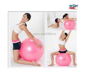 Bóng yoga , thảm yoga , dụng cụ tập Matxa Yoga Aerobic