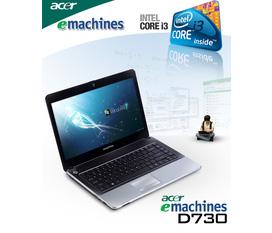 Laptop cũ Emachines D730 i3 350M giá 6tr300k
