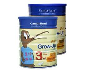 Sữa an toàn cho sự phát triển của con Cambriland New Zealand