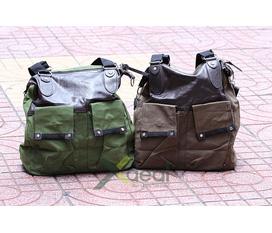 Túi vải bố X Bag, trải nghiệm phong cách thời trang bụi bặm khi mang bên người.