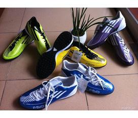 Giầy đá bóng sân cỏ nhân tạo Adidas F50, Nike Mercurial...