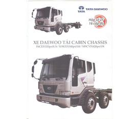 Xe tải cabin chassis daewoo, 8t5, 14t, 19t mới 100 nhập khẩu nguyên chiếc