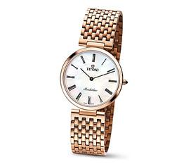 Bán đồng hồ Titoni Slenderline chính hãng, quarzt siêu mỏng mạ vàng, giá rẻ
