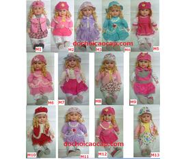 Búp bê bé gái, hàng mới về phục vụ quà tặng Trung Thu 2012