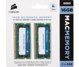 RAM Corsair kit 16GB 2x8GB for iMac,Macbook,Mac Mini,Mac Pro