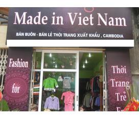 Bán buôn quần áo VNXK nguyên lô và cho các shop. 100% từ nhà máy