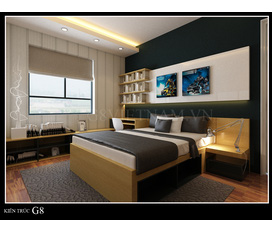 Thiết kế phòng ngủ, thiet ke phong ngu, thiết kế nội thất phòng ngủ đẹp và hiện đại, không gian ngọt ngào cho gia đình