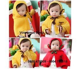 Voimamut Shop: Cực nhiều Bộ mũ khăn len, sét áo choàng len cho bé yêu. Bán buôn bán lẻ