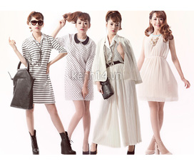 Rstyle Váy mùa thu cực xinh cùng cách mix theo xu hướng hot.