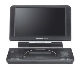 Đầu đĩa lưu động Panasonic DVD LS92 9 Inch Screen Portable DVD Player