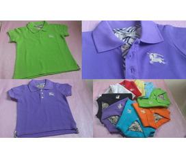 Áo thun Polo, Burberry hàng việt nam xuất khẩu cho bé trai và bé gái