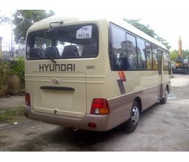 Hyundai Thăng Long Chuyên xe khách Hyundai County Đồng vàng. mới 100%