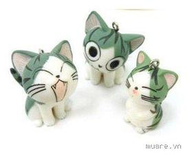 Móc chìa khóa mèo Chii ngộ nghĩnh, đáng iu các bạn thân iu :x:x