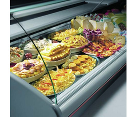 Tủ trưng bày thịt cá tươi, tủ trưng bày thực phẩm đông lạnh