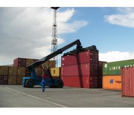 Xe nâng chụp container, bán xe nâng container