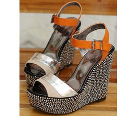 MS14 : Giày Korea cao gót cùng những đôi dép có kiểu dáng sang trọng và dễ thương nhất hiện nay