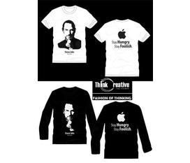 Áo dành cho Fan Apple và Stever Jobs.