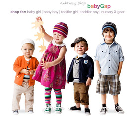 TOÀN QUỐC: Bán buôn, bán lẻ BABY GAP thời trang trẻ em