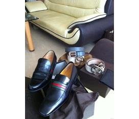 Giầy mocca loafer gucci size 7 và 8,fullbõx