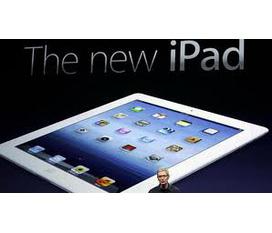 Bán the new ipad 4g wifi 32g màu trắng, hình thức mới 99%, bảo hành toàn cầu th5/2013