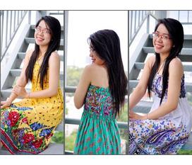 Topic 2: Đầm/ chân váy maxi hoa văn duyên dáng