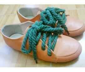 Giày dây thừng cực độc có đổi đồ