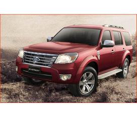 Ford Everest chính hãng, Everest 4x2 MT 2.5L 1 cầu số sàn, Everest 4x2 AT 1 cầu số tự động, Everest 4x4 MT 2 cầu số sàn