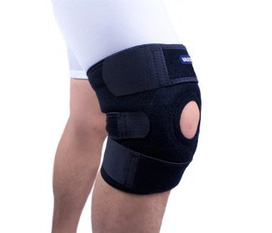 Miếng bảo vệ gối Yasco Breathable Neoprene Knee Support, One Size, Black