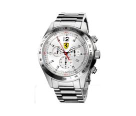 Đồng hồ scuderia ferrari steel chrono