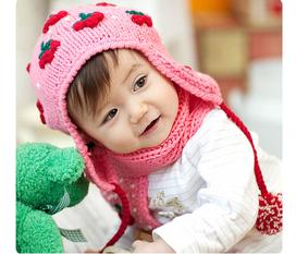 Nón hè, nón thu đông, áo khoác len hàng chính hãng Hàn Quốc model 2012 cực xinh, an toàn và thời trang cho bé iu của bạn